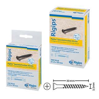 Rigidur-Spezialschrauben 30 mm