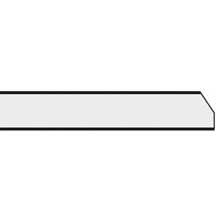 Querkante: gefast bei 2 m-Platte