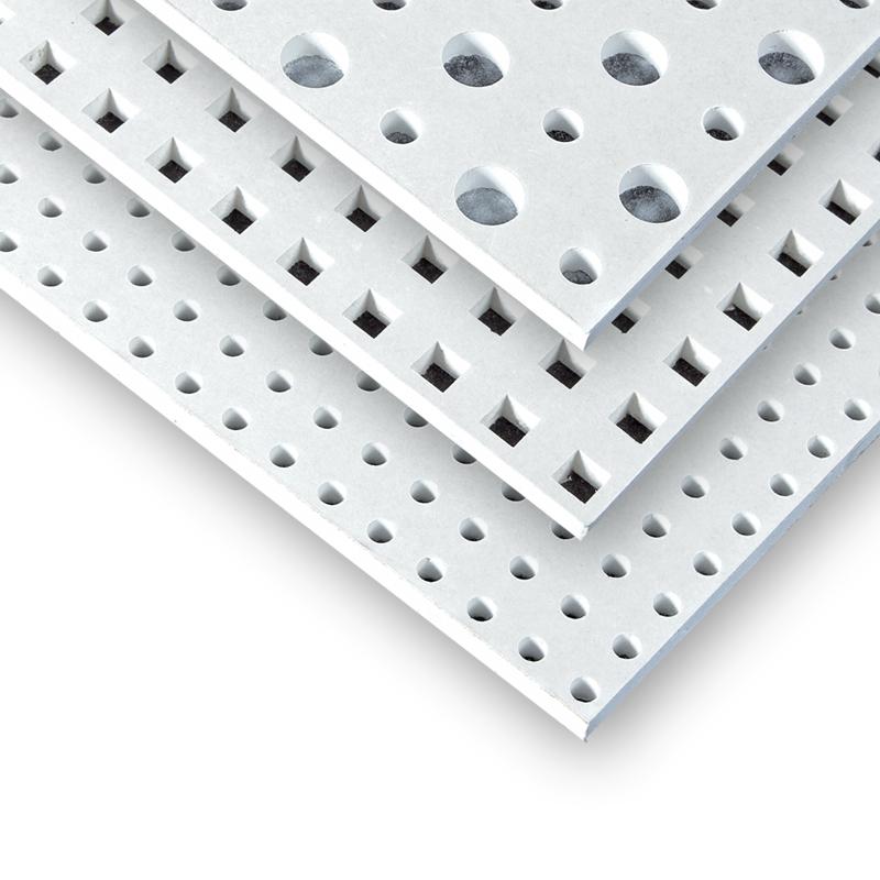 Rigitone-Lochplatten mit durchlaufender Lochung